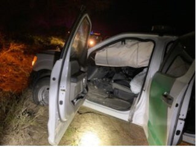 Mexican Gulf Cartel-Connected Smugglers Ram U.S. Border Patrol Vehicle in Texas