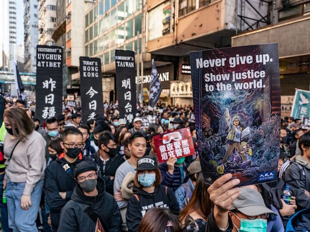 Hong Kong: 800,000 Take to Streets Against China in Peaceful Protest
