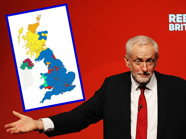 How Corbyn's Red Wall Crumbled: The UK Election in Maps