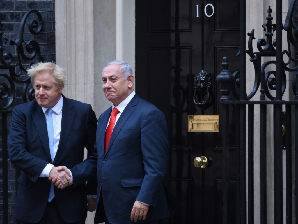 Netanyahu Backs Boris Johnson Victory: 'The People Decide, Not the Media'