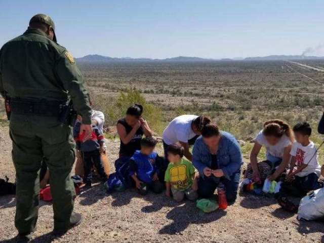 Migrant Family Apprehensions at Border Fall 90 Percent in Six Months