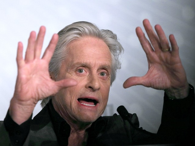 Michael Douglas: America's Political System Has Been 'Hijacked'