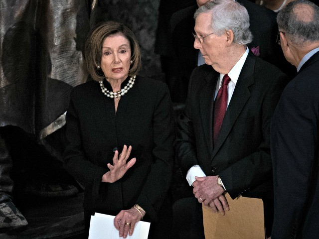 McConnell: Pelosi Refuses to Release Impeachment Articles Because She's Afraid, Unrelated to Fair Trial