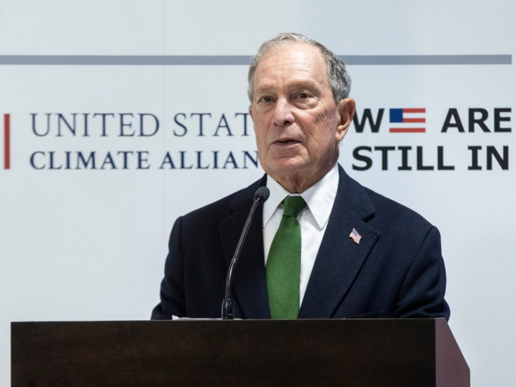 Michael Bloomberg Leads Democrats in Spain Jeering at Donald Trump on Climate