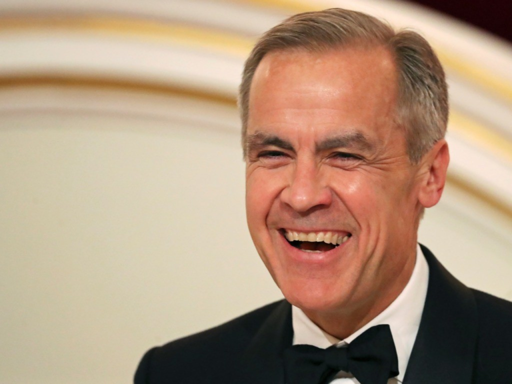 Mark Carney Leaves Bank of England for U.N. Climate Action Post