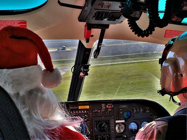 CBP Air and Marine Flies Santa to Texas Border Towns