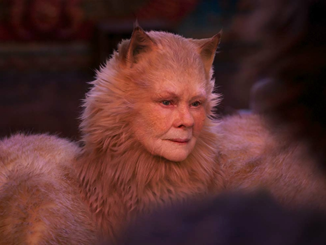 Judi Dench: My 'Cats' Character Is a Transgender Cat