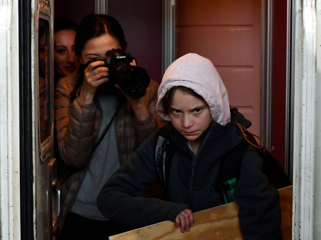 German Railway Company Disputes Greta Thunberg's Seatless Claim