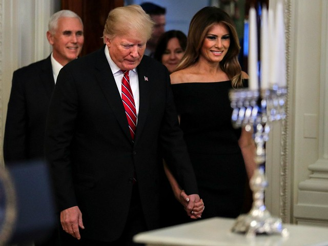 Watch Live: President Donald Trump Hosts Hanukkah Reception at the White House