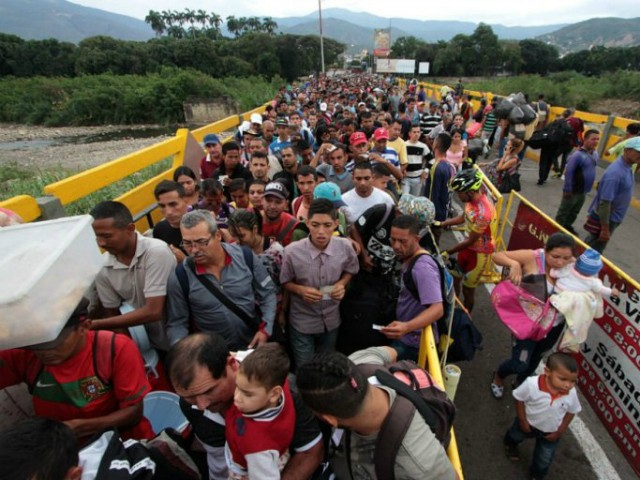Study: Venezuela's Refugee Crisis to Surpass Syria, 'Largest in Modern History'