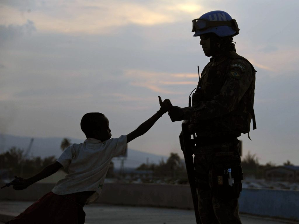U.N. Sex Exploitation: Haiti Peacekeepers 'Fathered Hundreds of Babies' then Left them in Misery