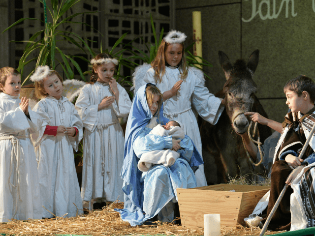 French Leftists Label Children in Nativity Play 'Fascists'