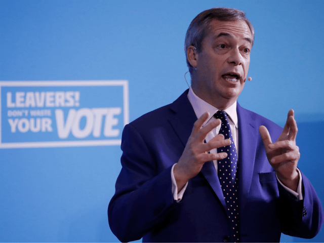 Farage's 'New Radicals' Will Push for Political Reform After Brexit