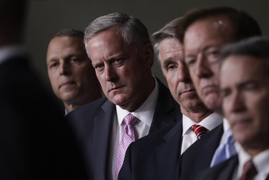 House Freedom Caucus Opposes Democrats' War Powers Resolution Targeting Trump