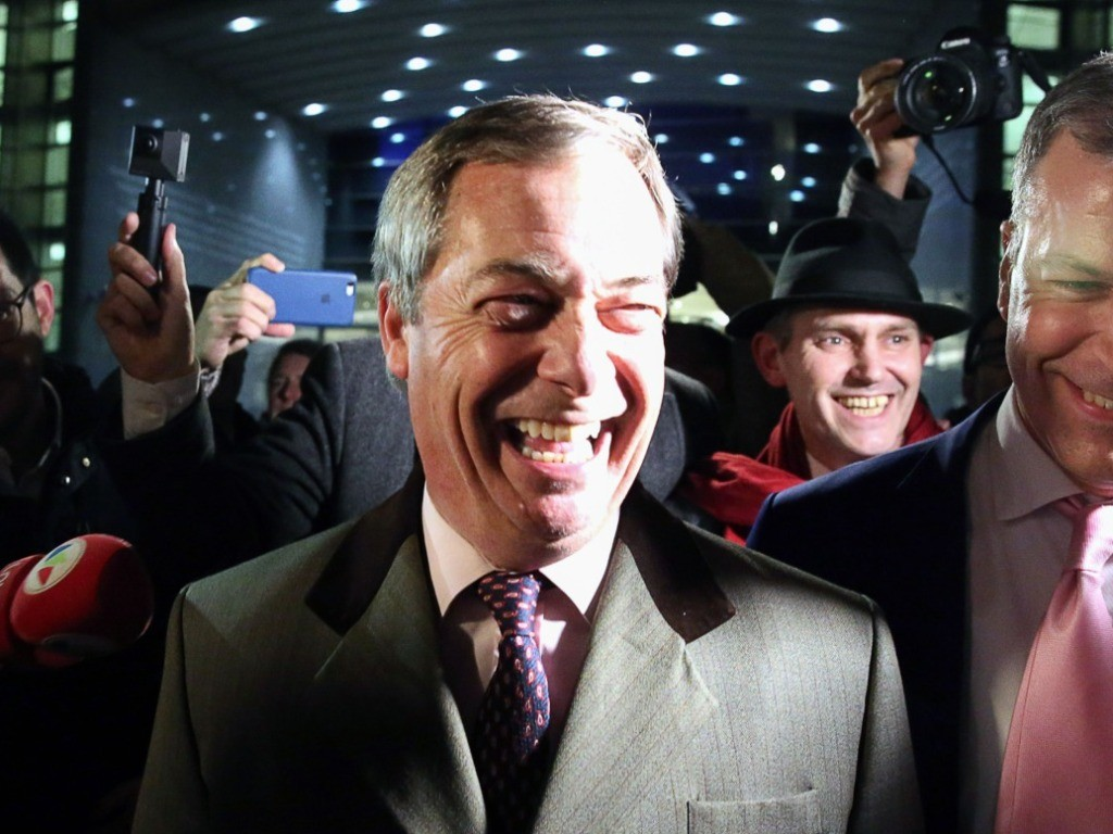 Farage to Breitbart: Brexit a Historic Day for United Kingdom, Europe, and the Western World