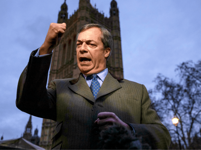 Farage: Remainers Refusing 'Losers' Consent' Did 'Untold Damage' to UK