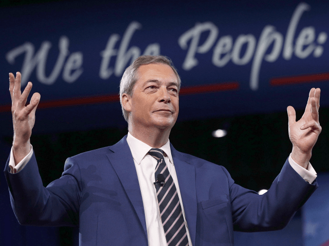 Party ON: Nigel Farage's Brexit Day Street Party Approved