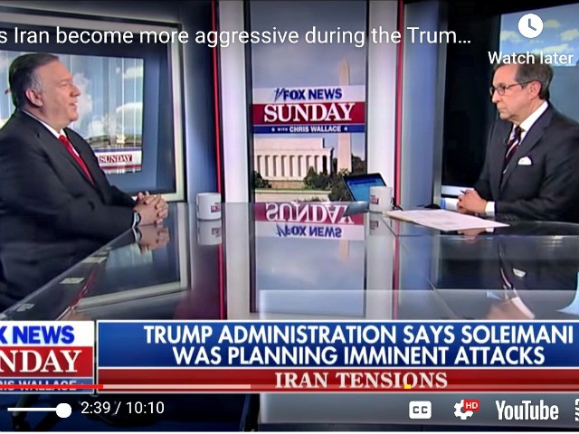 Pompeo Quashes FNC's Chris Wallace Question About Impeachment Weakening Trump: 'You Should Ask Soleimani'