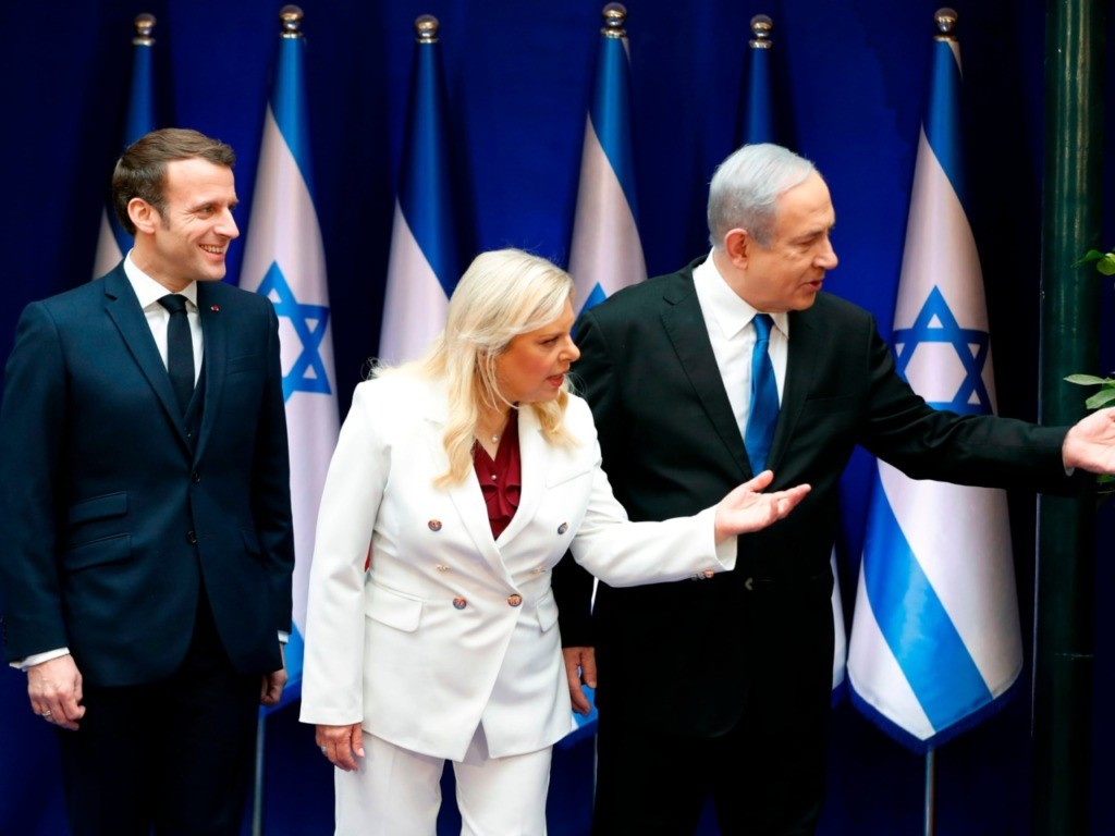 France's Macron Slams Antisemitism on Jerusalem Visit