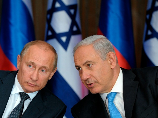 Netanyahu in Moscow to Discuss U.S. Mideast Peace Plan