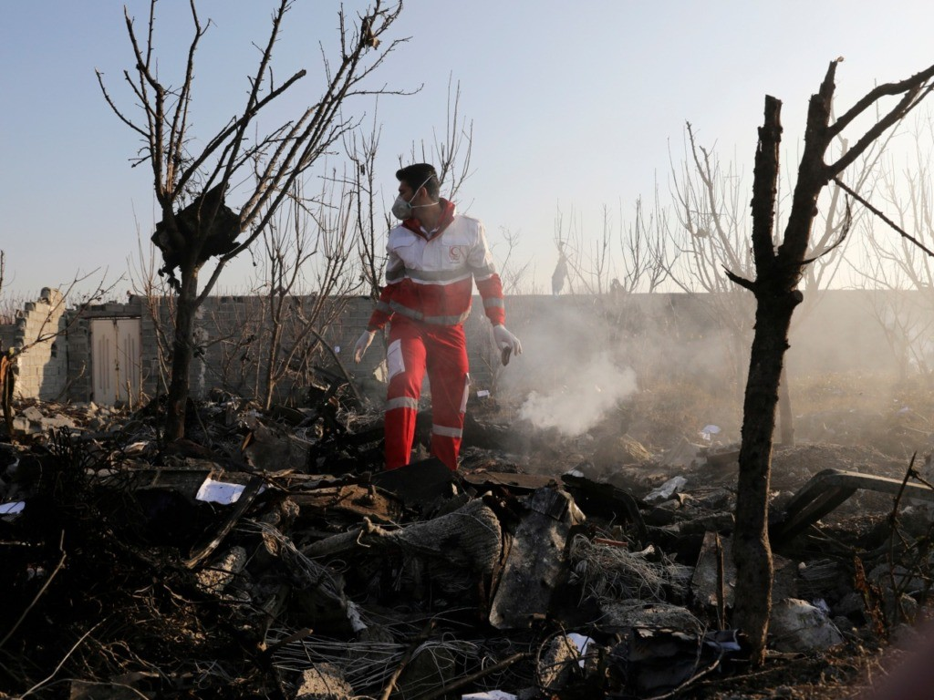 Iranian Officials Speculate U.S. 'Enemy Sabotage' Took Down Ukrainian Plane