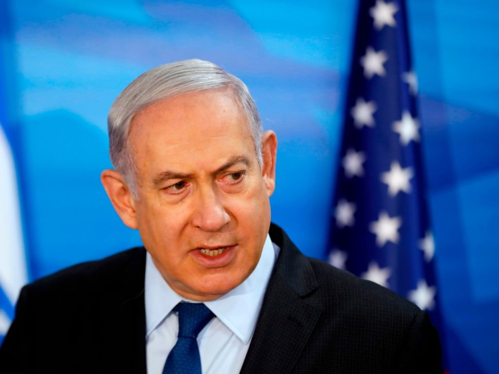 Netanyahu Calls on West to Impose Snapback Sanctions on Iran