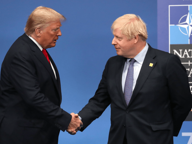 Boris Backs Plans to Pursue Rapid Trade Deal with U.S., Use as Leverage over EU: Report