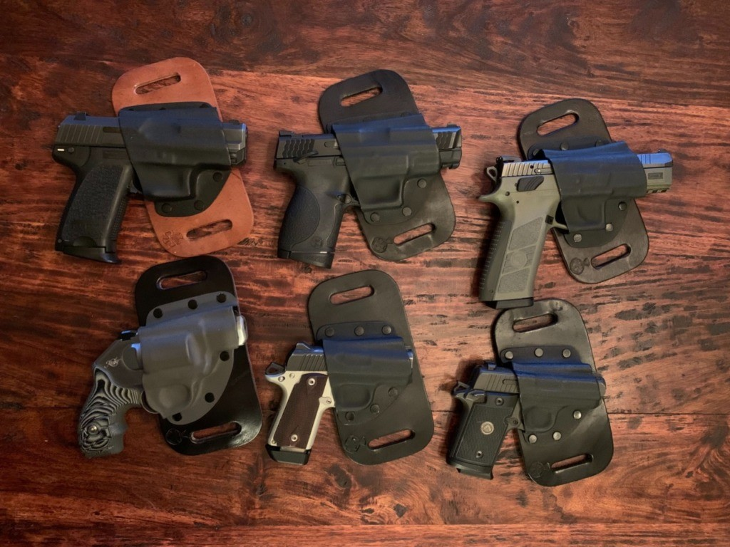 CrossBreed SnapSlide OWB Holster: Comfortable Concealment