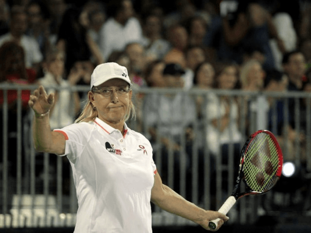 Martina Navratilova Returns Serve: Says Margaret Court 'Hiding Behind Her Bible'