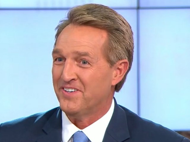 Jeff Flake: 'Difficult' for GOP Lawmakers to Speak Out Against Trump 'Because They Want to Keep Their Jobs'