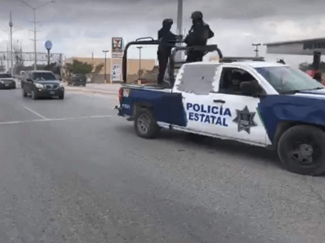 Two Police Officers Injured in Mexican Border City Cartel Ambush