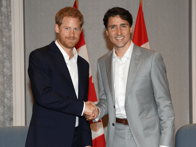 Report: Canadian PM Trudeau Agrees 500k Security Fund for Prince Harry, Meghan
