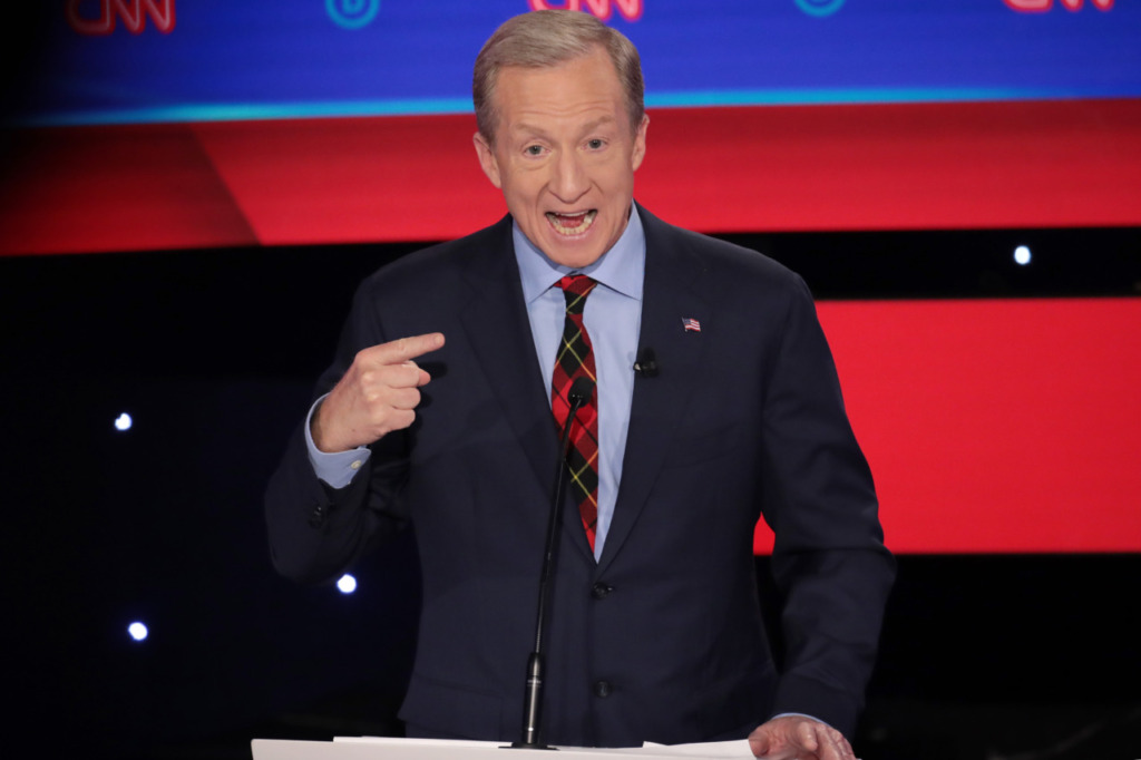 Tom Steyer: Trump Has No Foreign Policy Strategy, 'Crisis to Crisis'