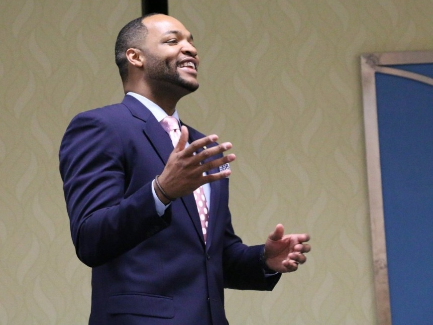 Ex-Georgetown Basketball Player Omari Faulkner Running to Unseat Sen. Mark Warner