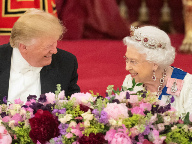 Trump Says Meghan and Harry Crisis Shouldn't Be Happening to the Queen
