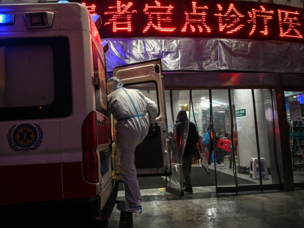 China 'Punishes' Local Officials After Coronavirus Patient Hangs Himself