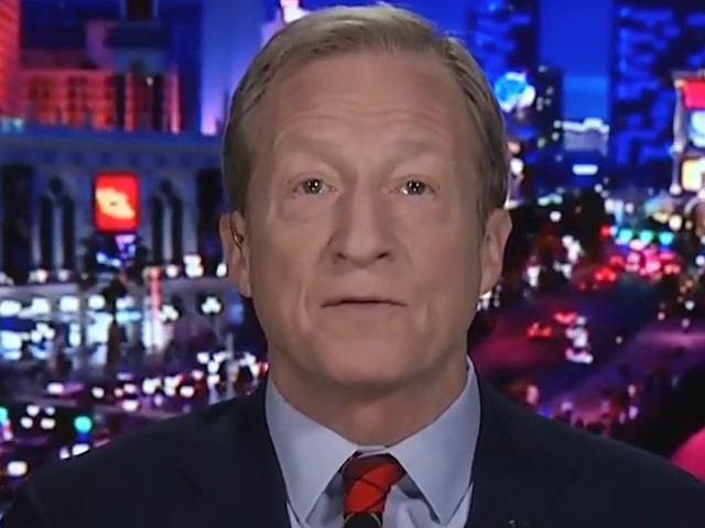 Steyer on Latest Dem Debate: 'I Saw the Person Who Won the Debate Last Night Whose Name Is Donald Trump'