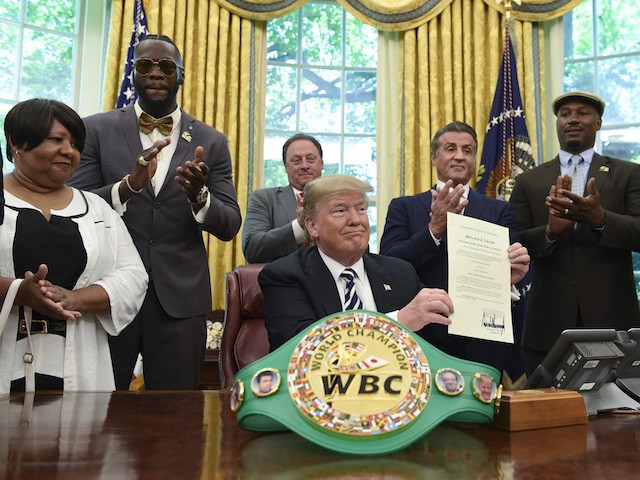 Blue State Blues: How Deontay Wilder Came to Like Trump Is the Story of 2020