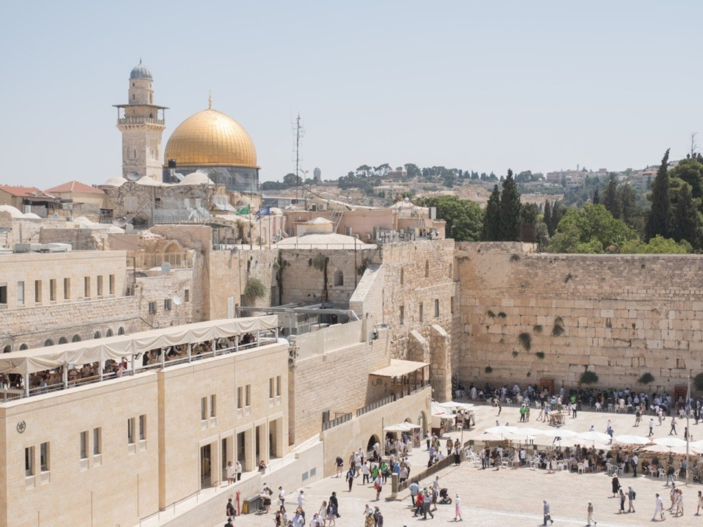 Jews and Chinese Officials Gather at Western Wall to Pray for End to Coronavirus