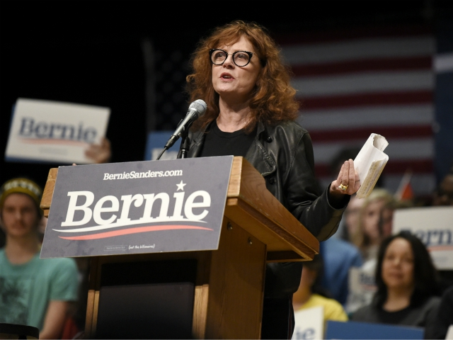 Susan Sarandon Heads to South Carolina to Support Sanders: 'It's Happening Guys'