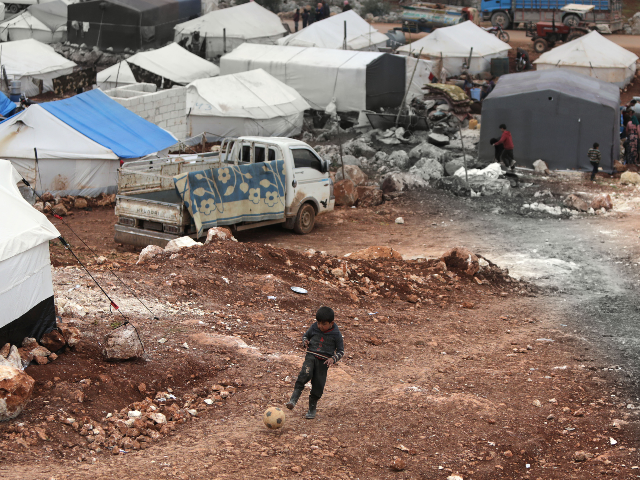 U.N.: Russia Has Displaced Nearly a Million Syrians Since December