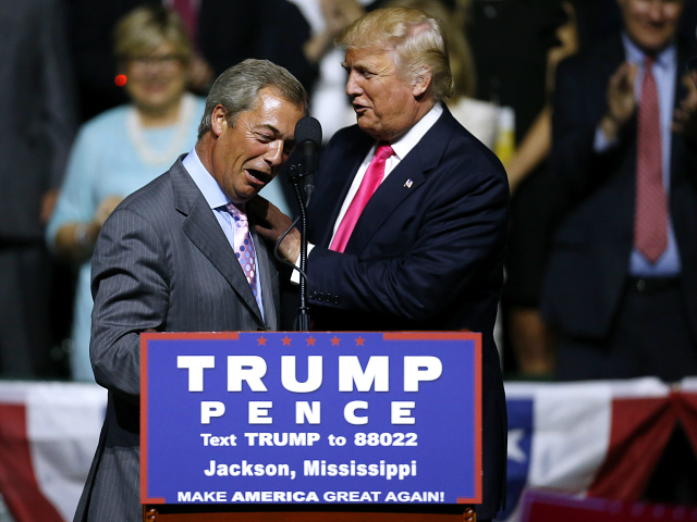 Brexit Leader Nigel Farage Meets With President Trump at White House: 'Great Things Ahead For Our Two Countries'