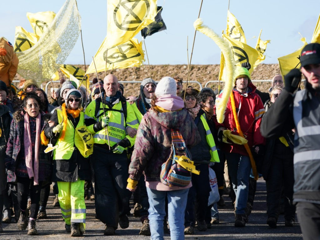 BBC Claimed Extinction Rebellion Activists in Cardboard Helmets Were Real Miners