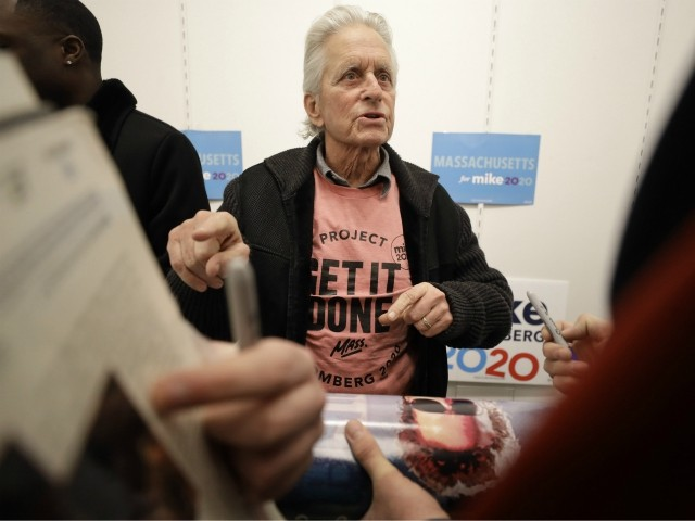 Best Presidential Candidate in 40 Years: Michael Douglas Hits the Campaign Trail for Bloomberg