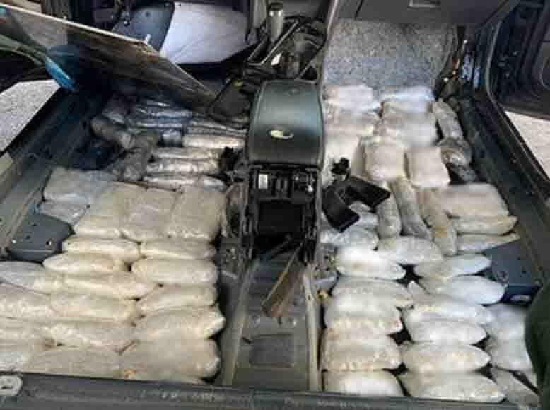 250 Pounds of Narcotics, Cocaine Seized in Arizona Smuggling Attempts