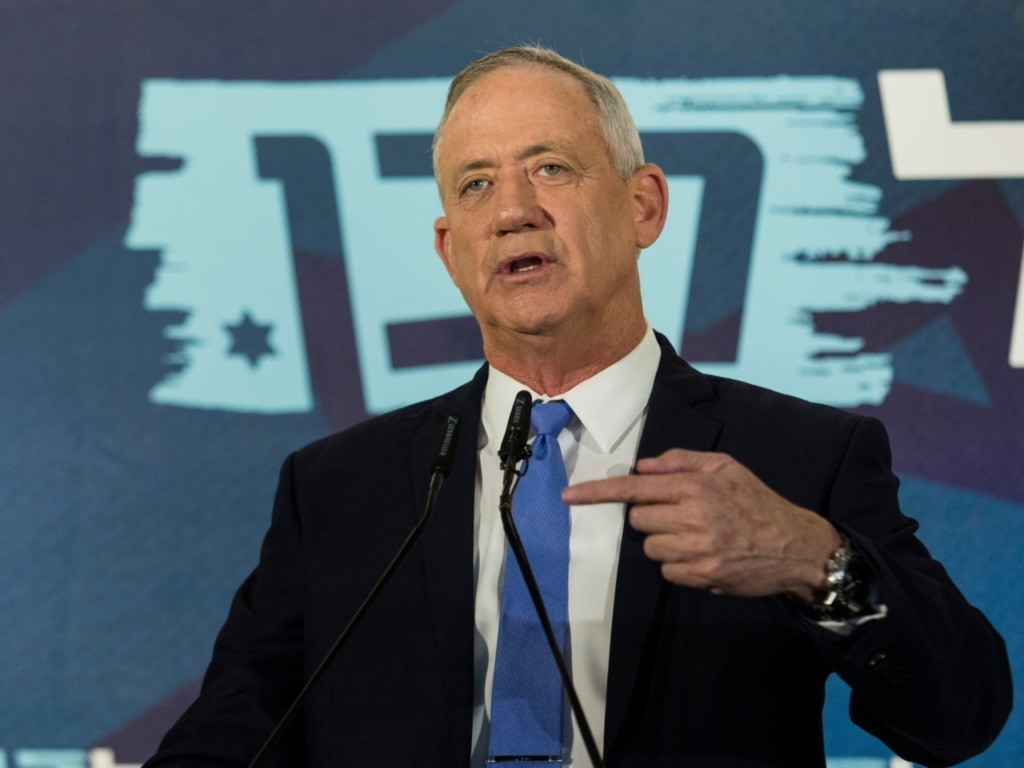 Netanyahu Tells Rival Gantz to Fire Advisers Who Compared Trump to Hitler