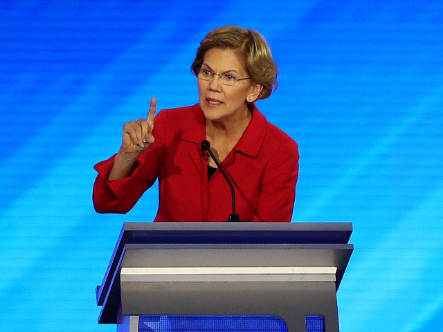 Fact Check: Liz Warren Falsely Claims '3 of 4' Americans Believe Roe v. Wade Should Be Law
