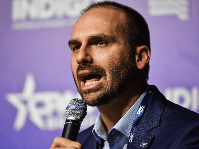 Brazil's Eduardo Bolsonaro: 'Globalists Are Trying to Delete Our History'