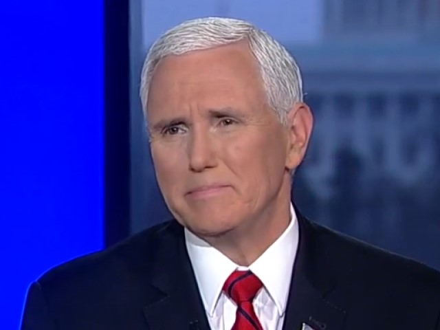 Pence on Pelosi: 'I Wasn't Sure if She Was Ripping Up the Speech or Ripping Up the Constitution'
