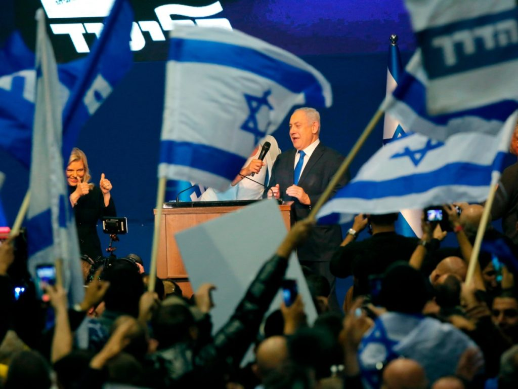 Netanyahu's Likud in Clear Lead, Nabs Nearly 30% of Votes